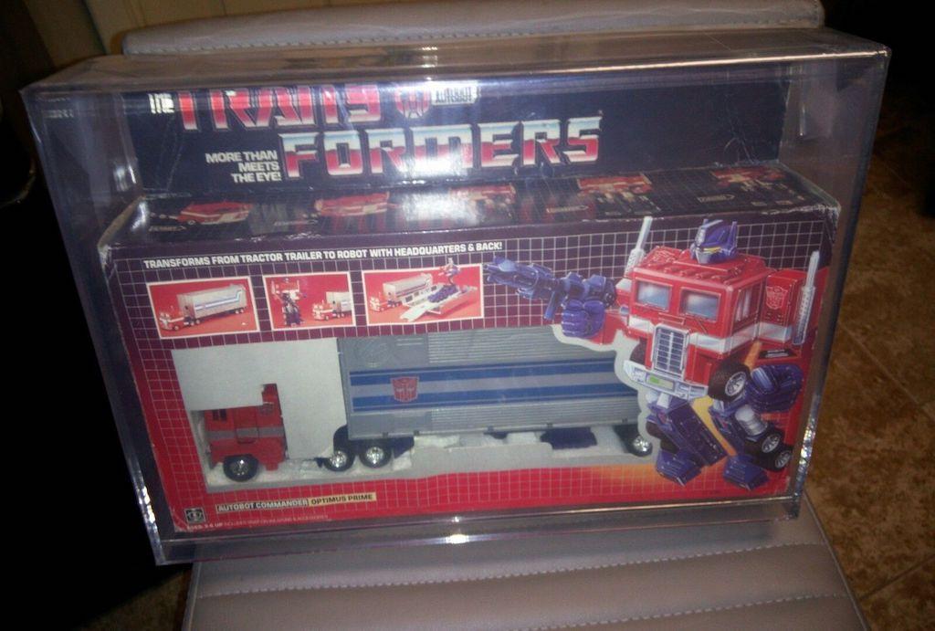 Original Optimus Prime action figure