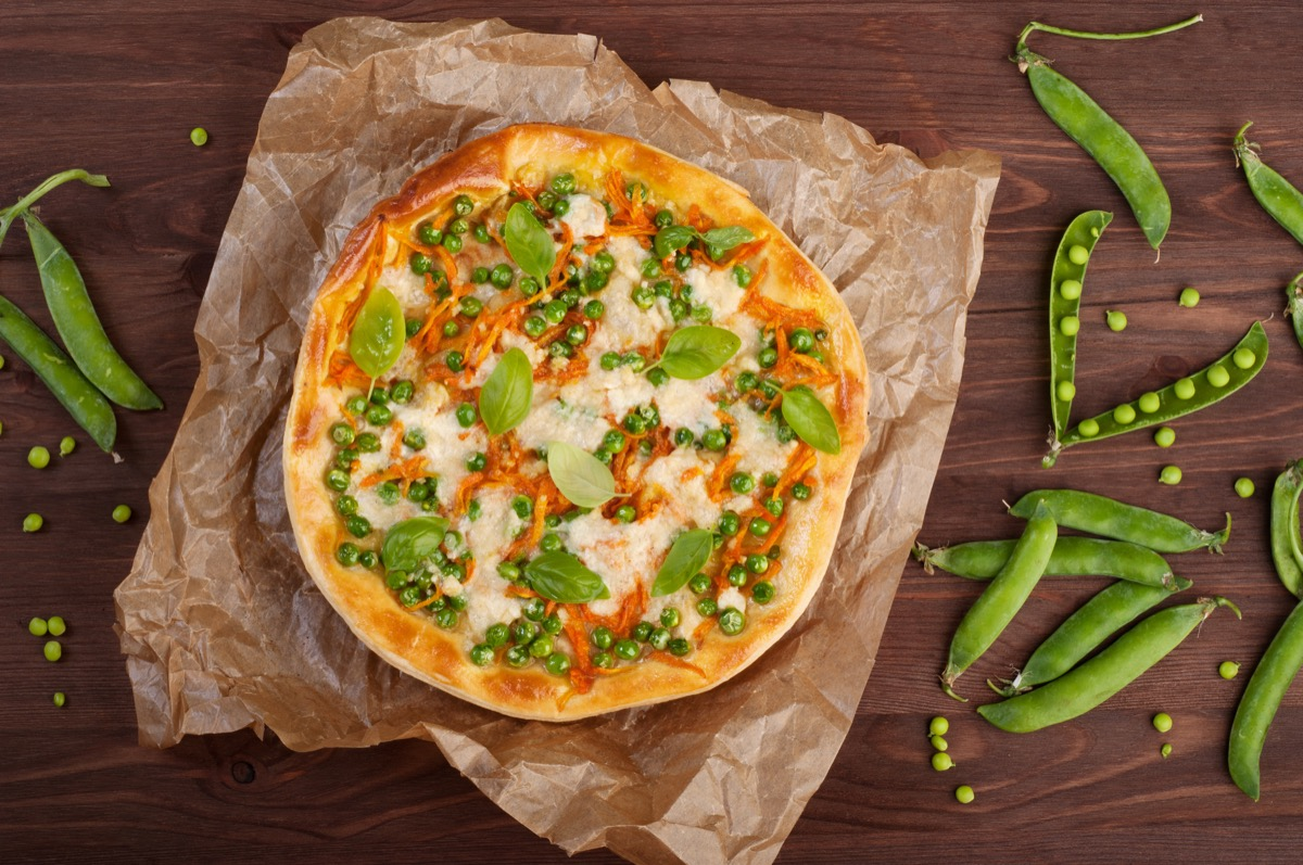 peas on a pizza, amazing facts