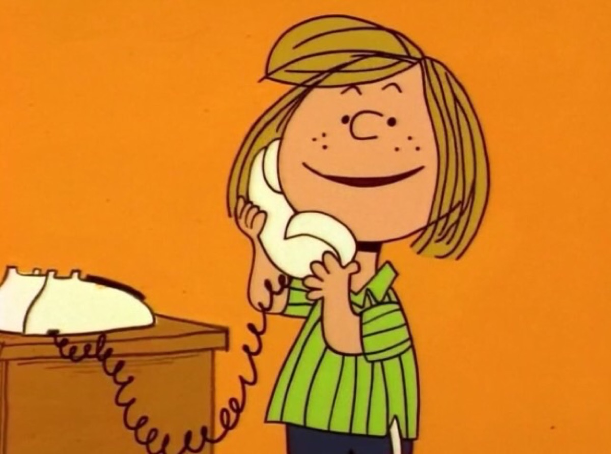 peppermint patty from charlie brown peanuts, amazing facts