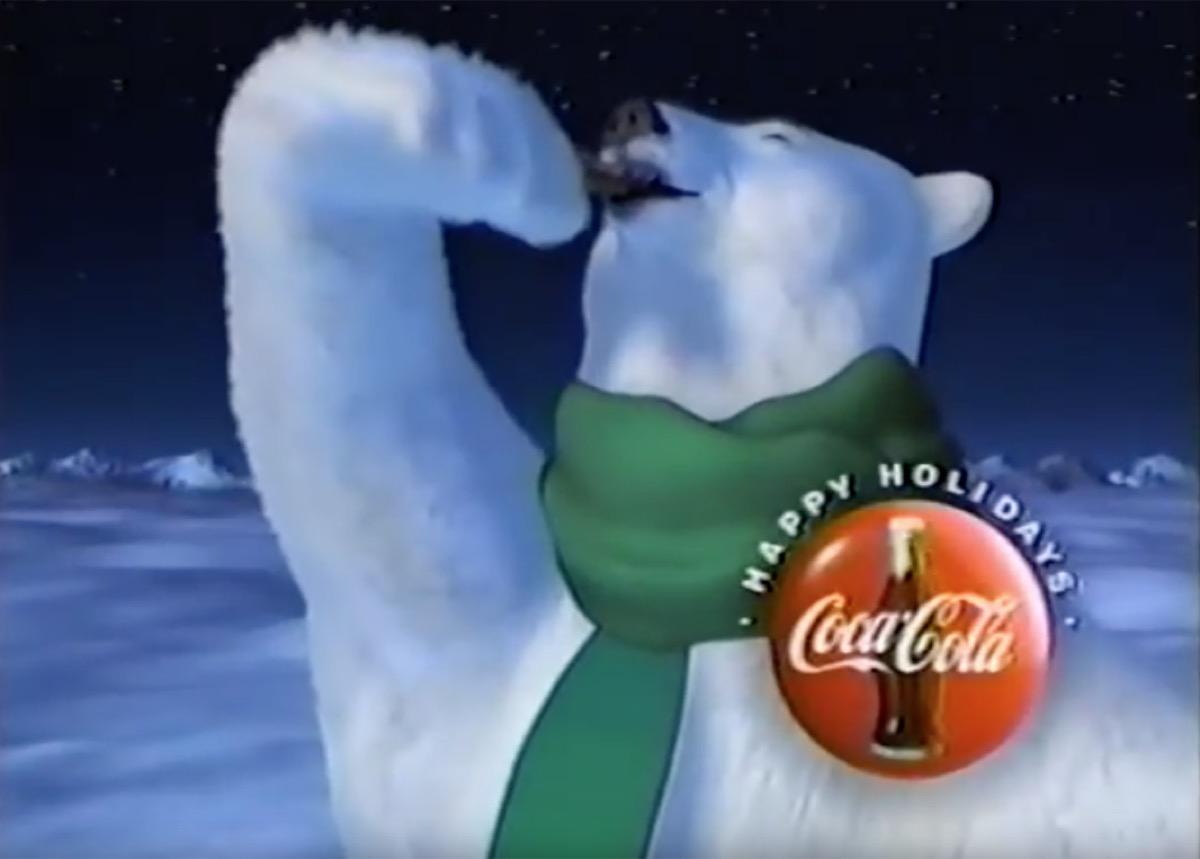 polar bear coke ad