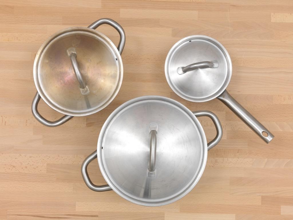pot and pan lids