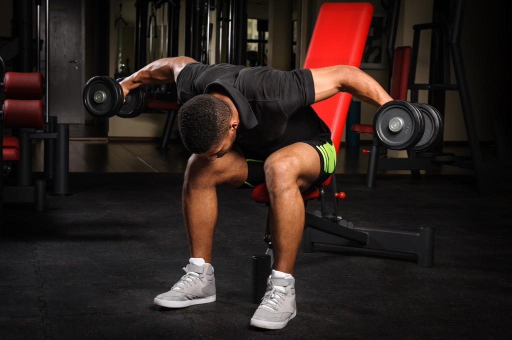 reverse dumbbell fly over 40 fitness
