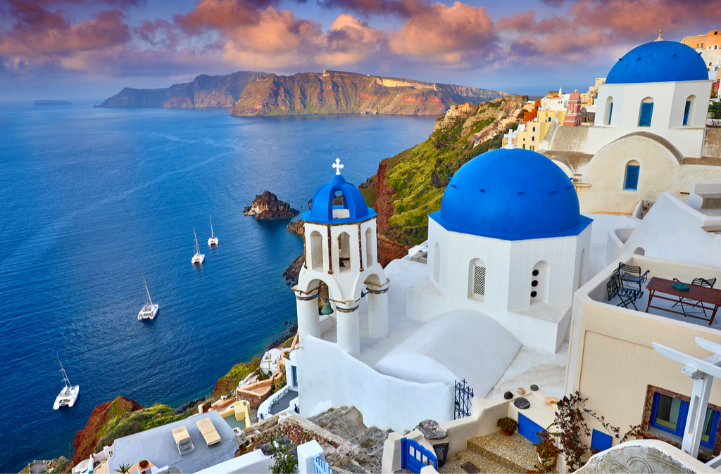 Santorini Greece Magical Islands