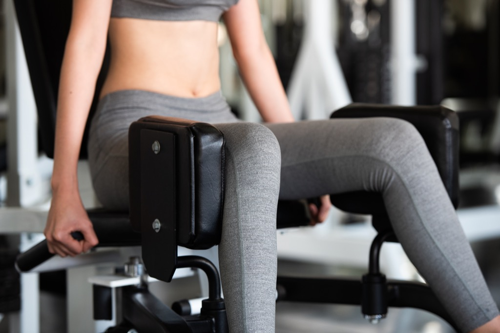 Inner/Outer Thigh Machine