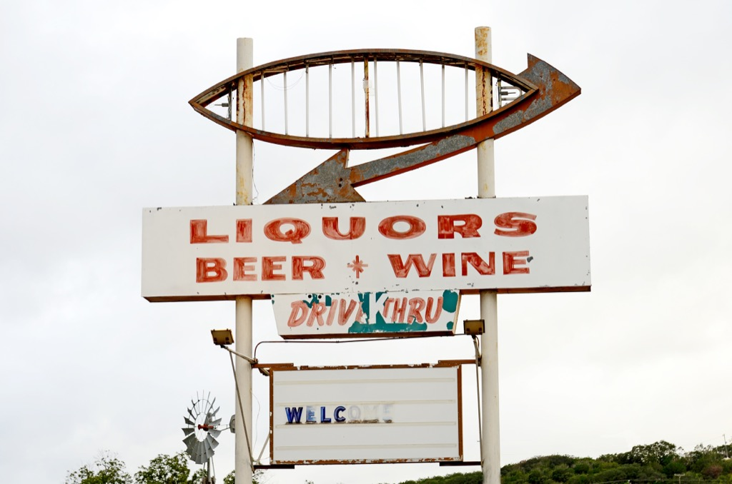 liquor drive thru