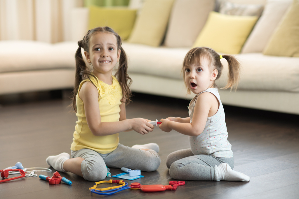 Siblings Sharing Toys Worst Things to Say to Kids