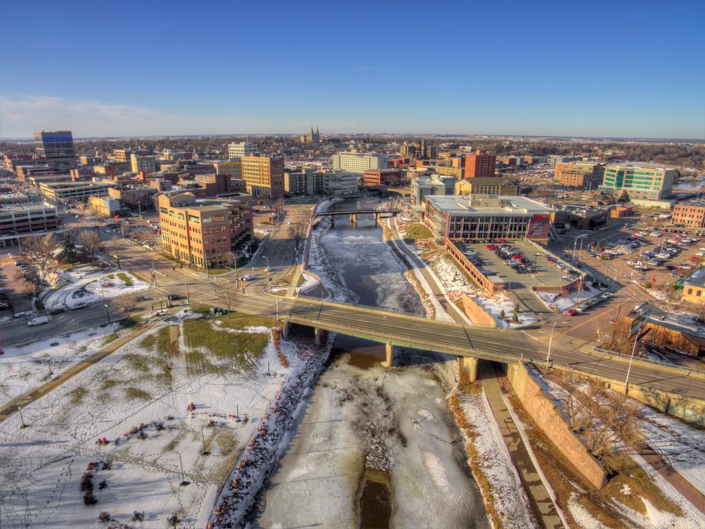 Sioux Falls, South Dakota American Cities Vacation Destinations