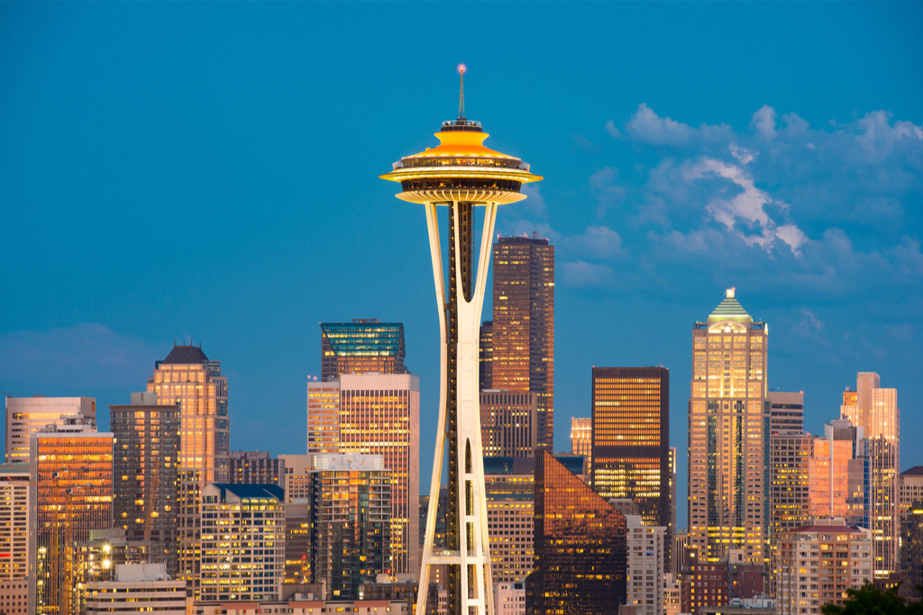Space Needle Seattle Privately Owned Landmarks