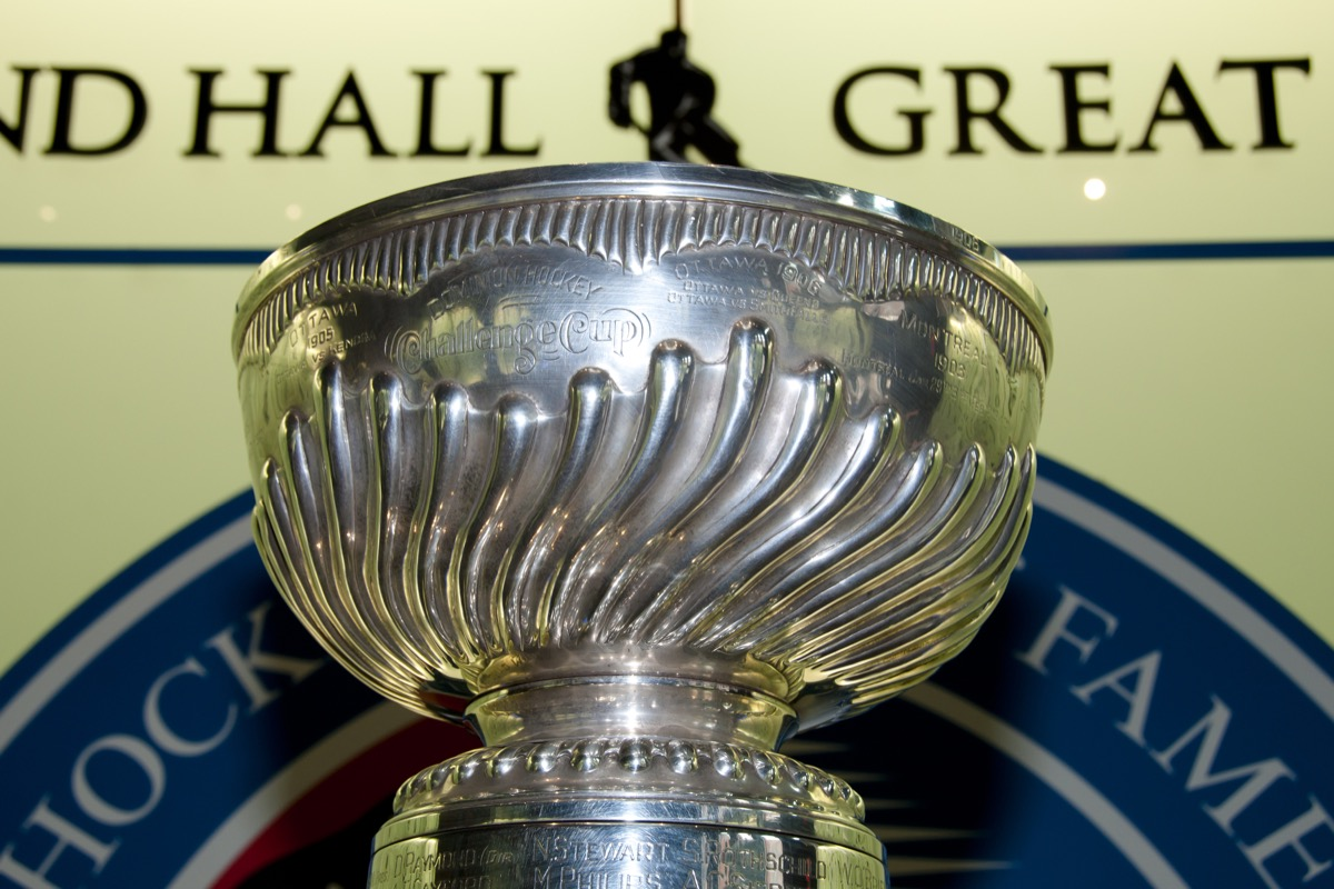 stankley cup for national hockey league, amazing facts