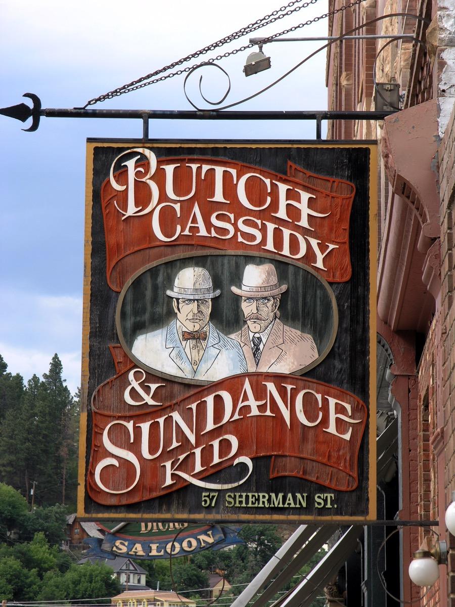 butch cassidy and sundance kid saloon