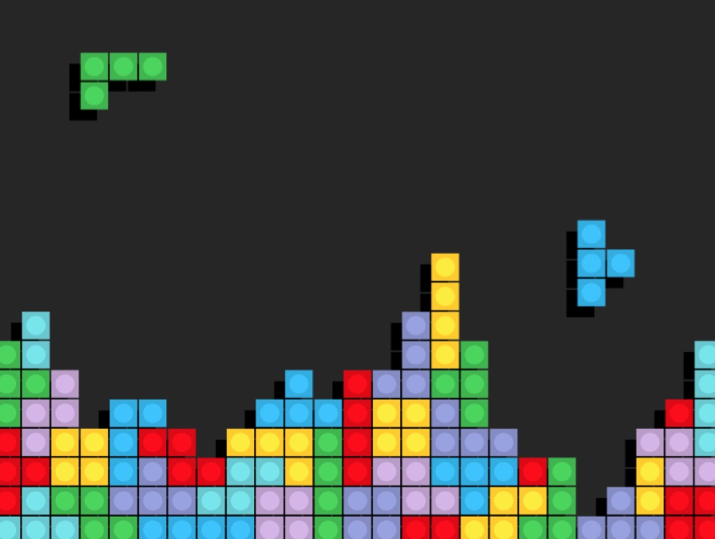 Tetris {Conquer Negative Thinking}