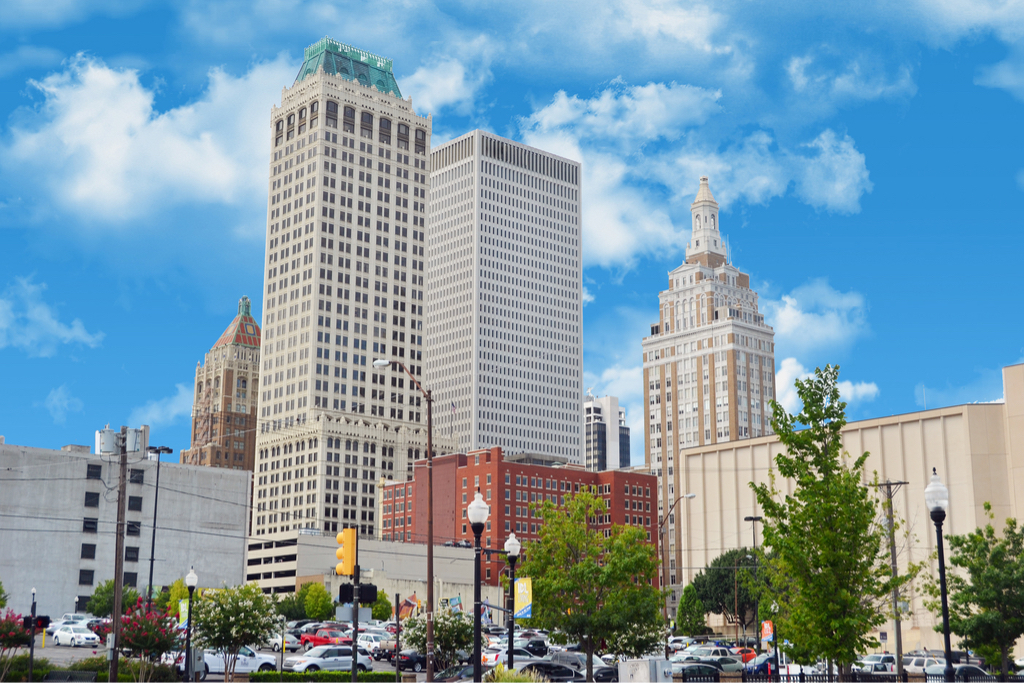 Tulsa Oklahoma American Cities Vacation Destinations