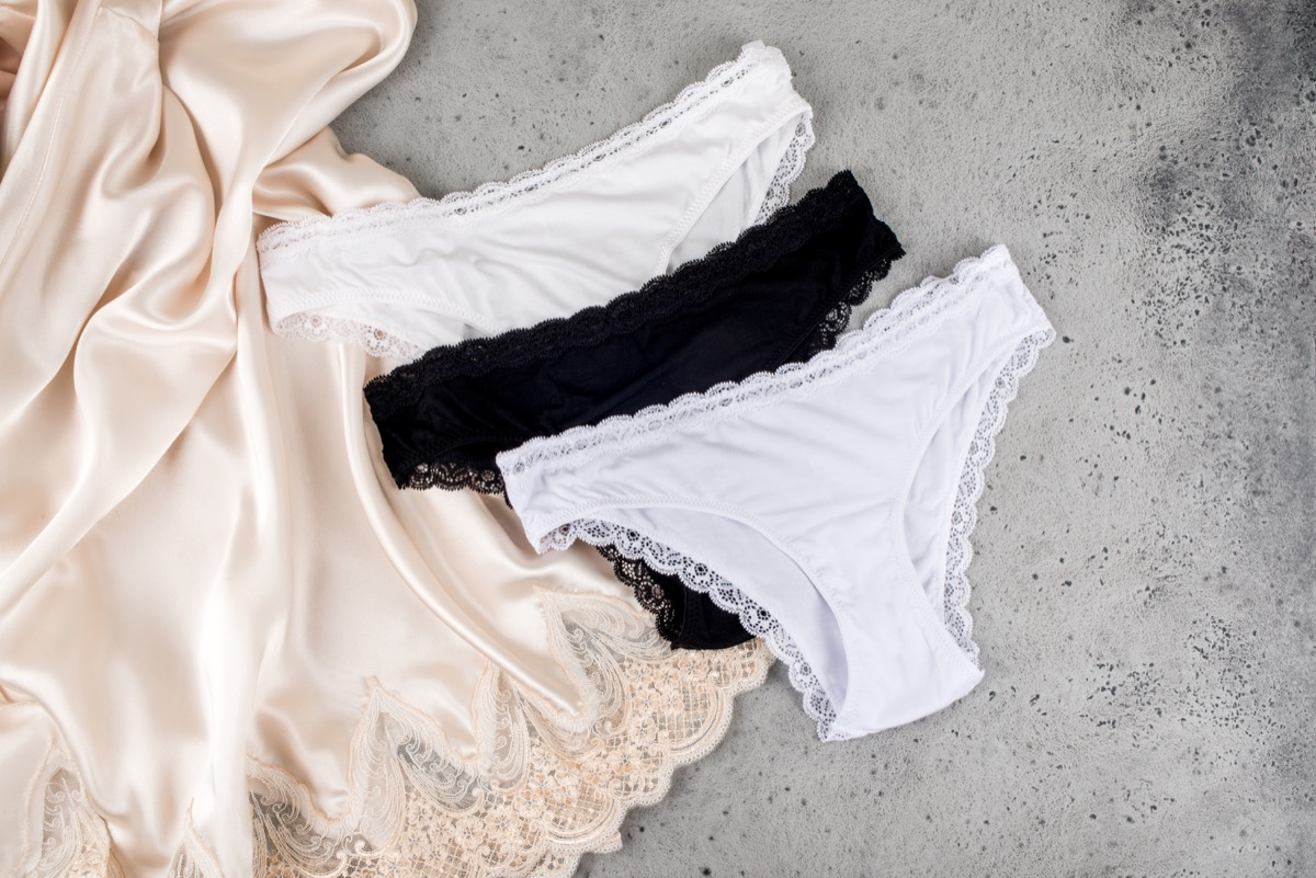 female underwear, amazing facts