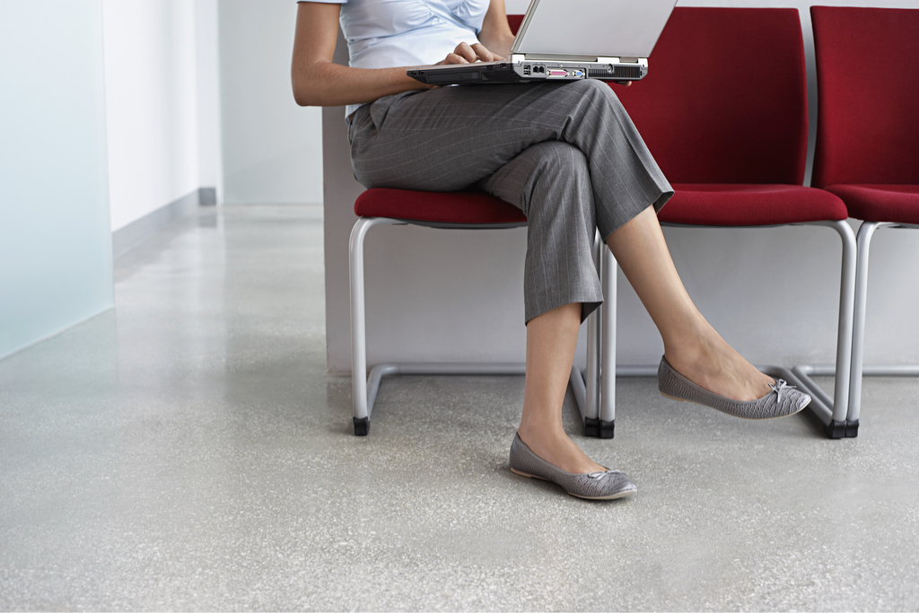 Woman With Legs Crossed Body Language That Kills First Impressions