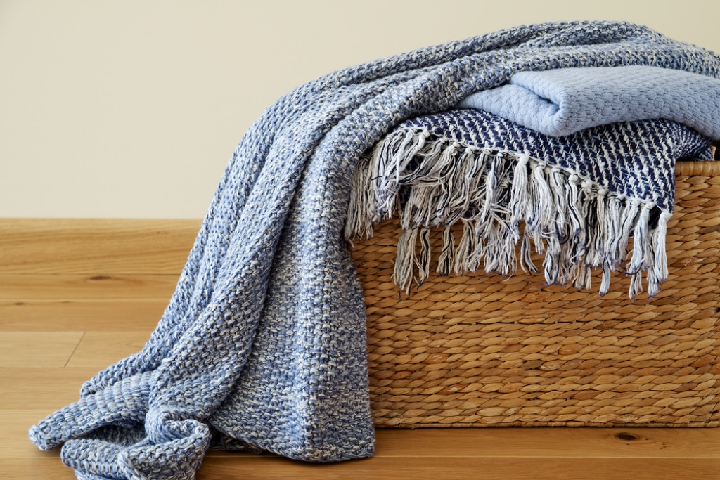 wool blanket items you're storing wrong
