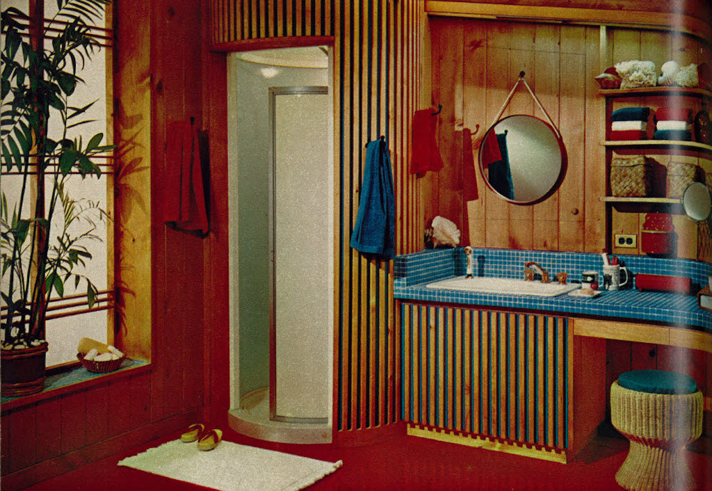 1960s Circular Shower Worst Home Decorating Trends