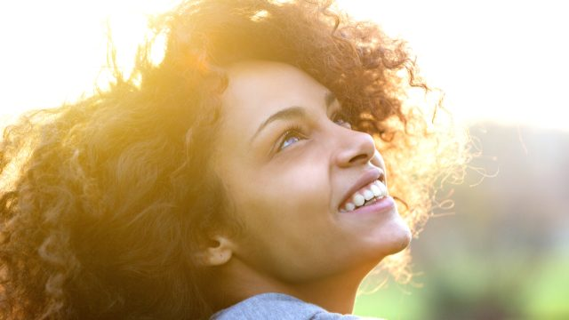 Woman Smiling, make yourself more attractive