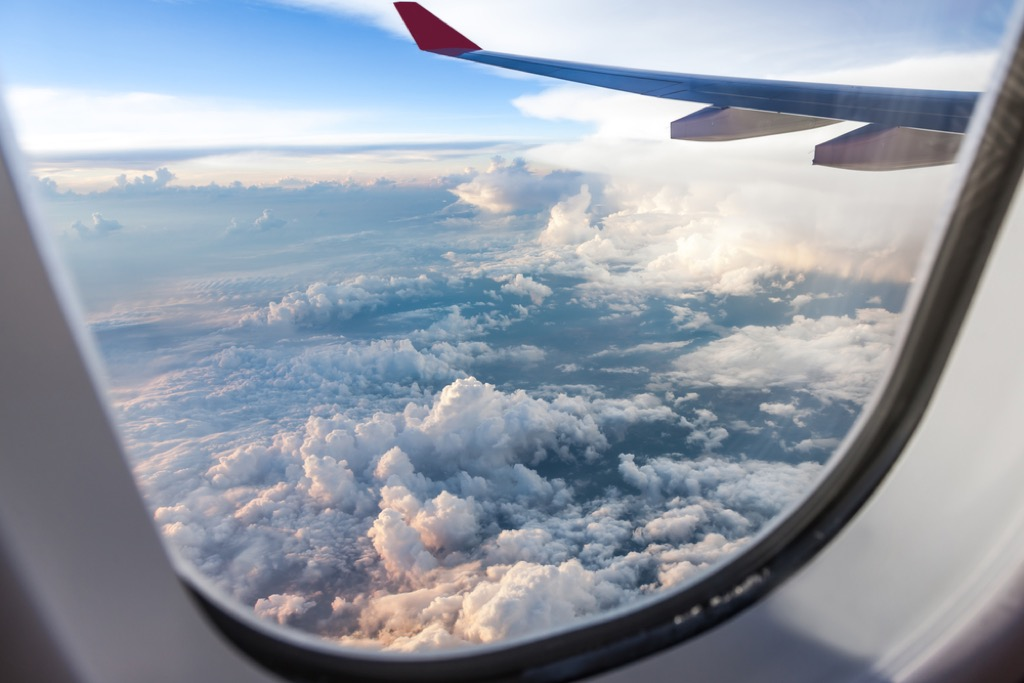 plane window hole flying facts