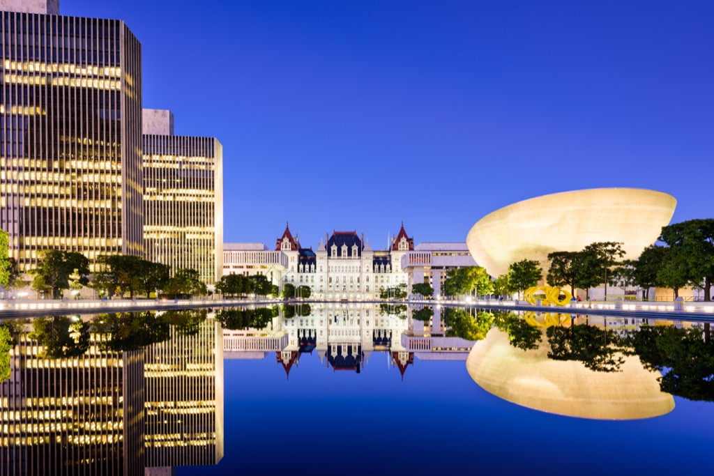 albany new york state capitol buildings