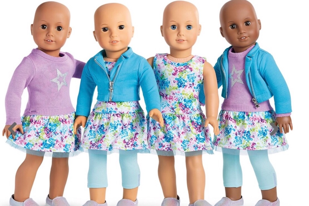 American Girl Dolls with no Hair Pay it Forward Stories