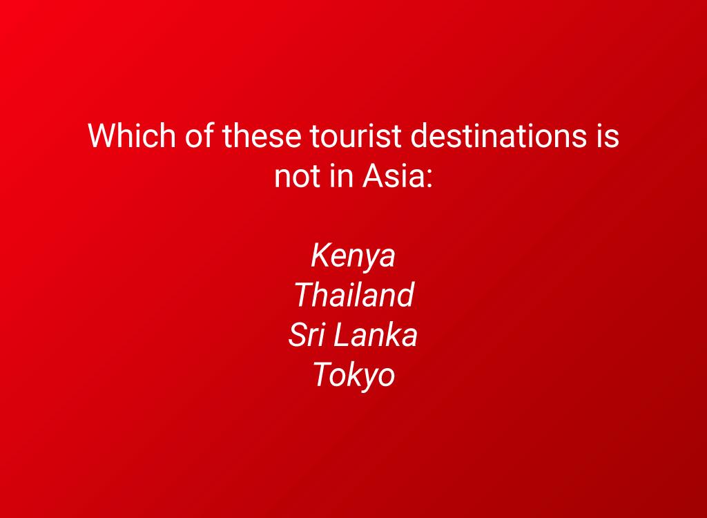 asia tourist destinations