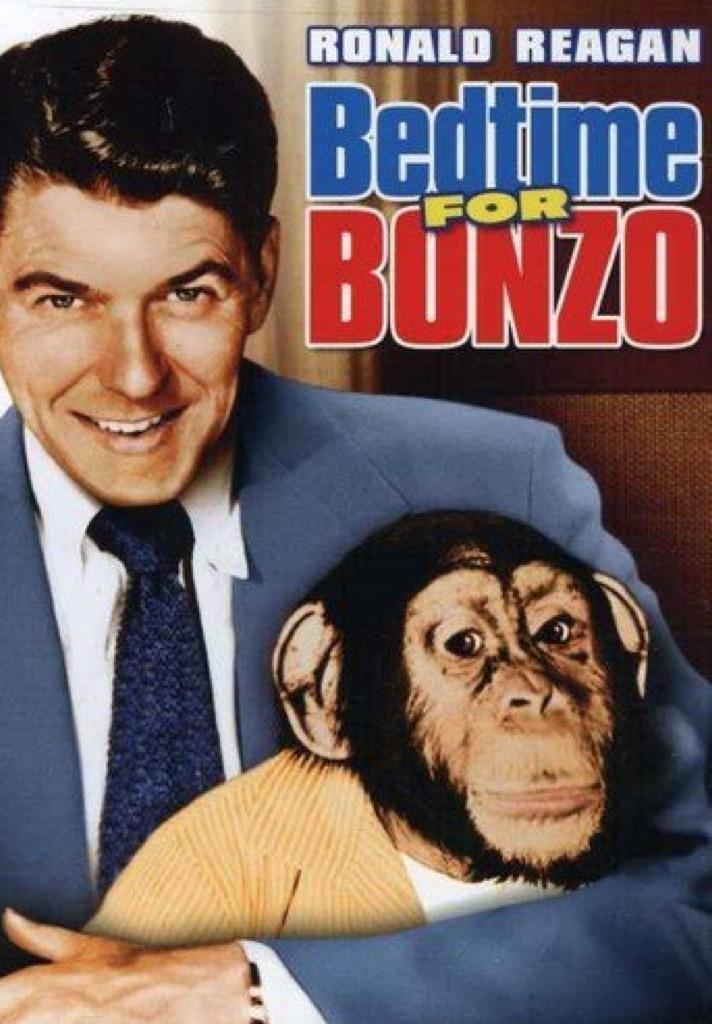 bedtime for bonzo movie cover