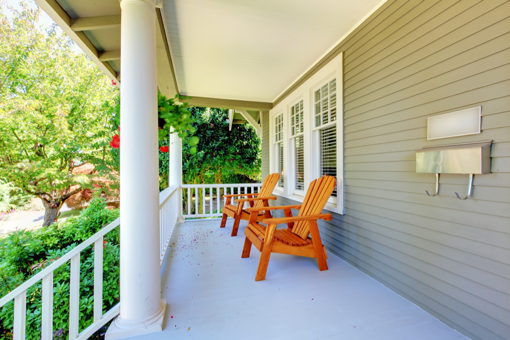 Big Front Porch Boosting Your Home's Curb Appeal