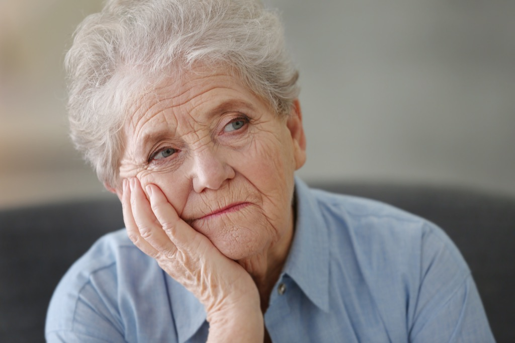 bored elderly woman Not Ready to Retire