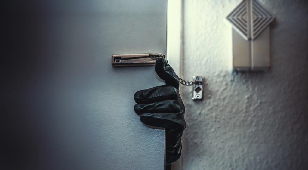 burglar breaking in what burglars know about you