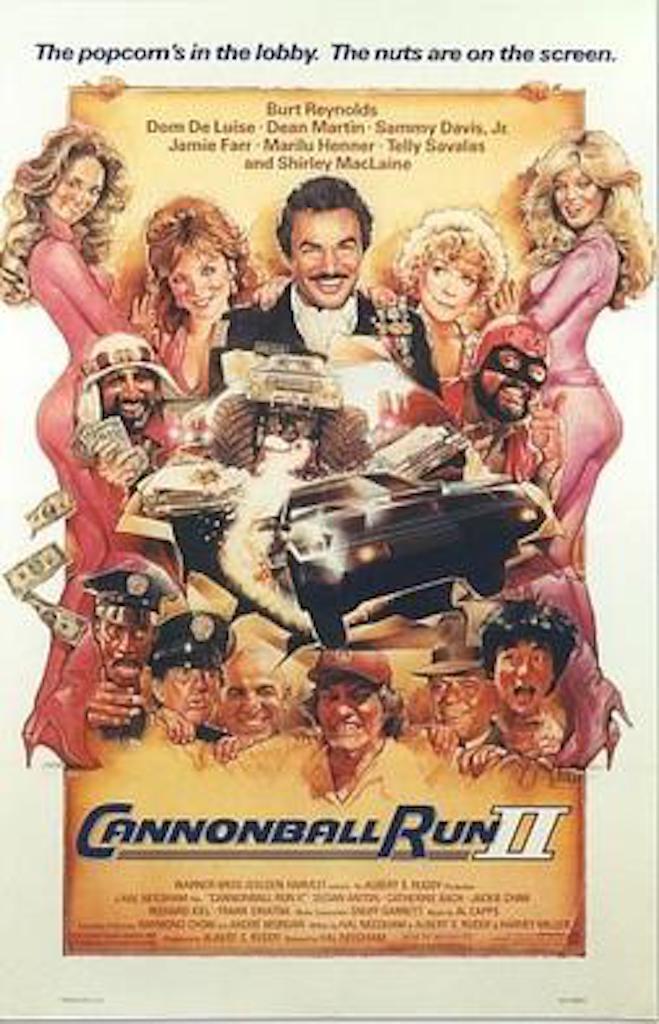 Cannonball Run II Worst Movies