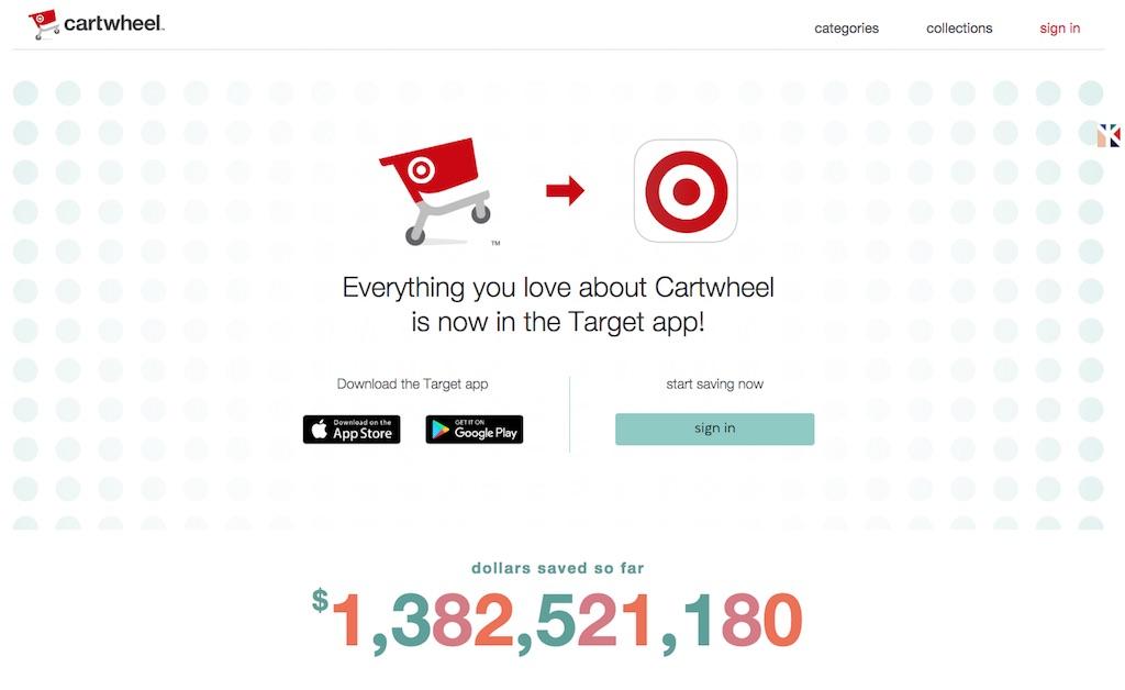 Target Cartwheel app {Target Shopping Secrets}
