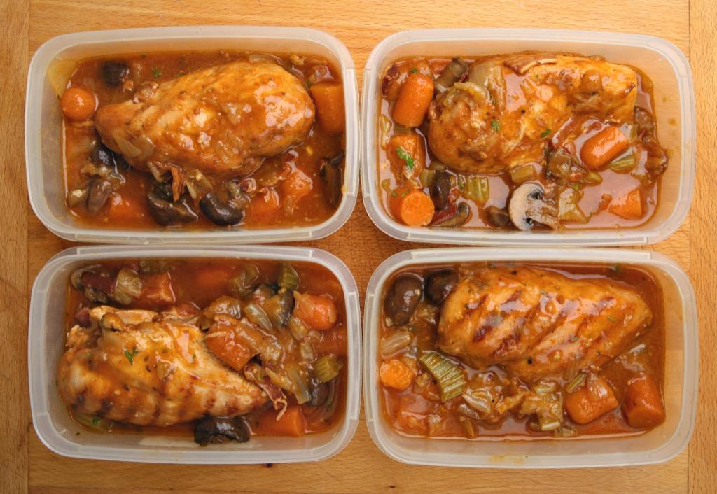 chicken in tupperware