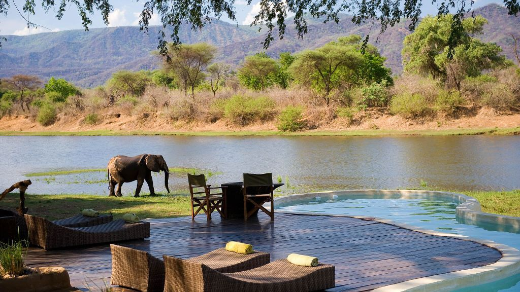 Chongwe River House Africa Most Insane Swimming Pools