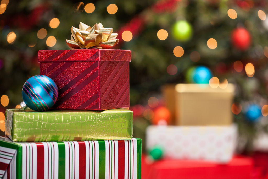 Christmas Presents Under a Tree {Holiday Depression}