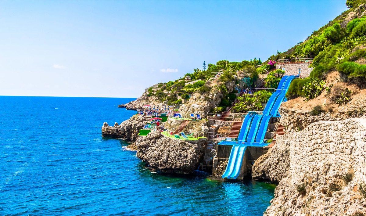 citta del mare resort Italy pool
