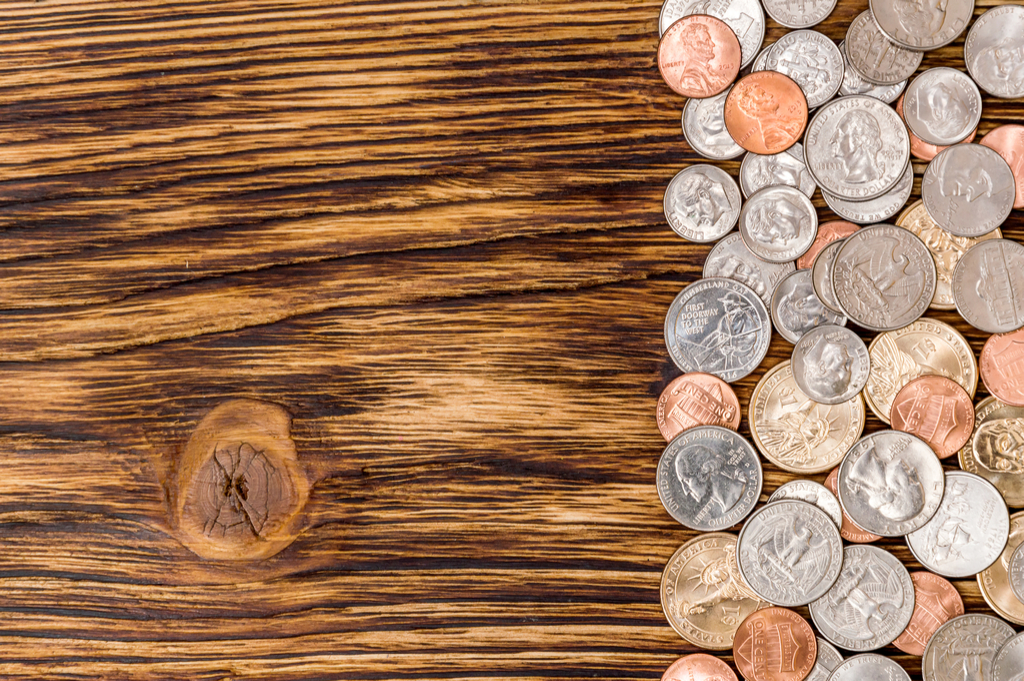 Coins on Table Money Facts