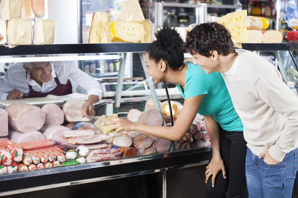 Couple at Meat Counter Walmart Secrets
