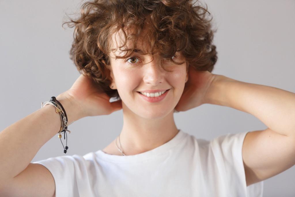 curly hair bangs worst older woman haircut