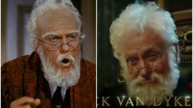 dick van dyke marry poppins returns