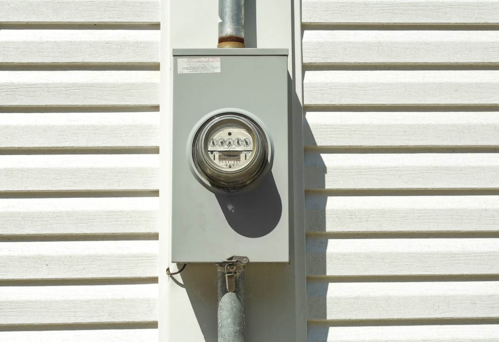 electrical panel on exterior of home, fire prevention tips