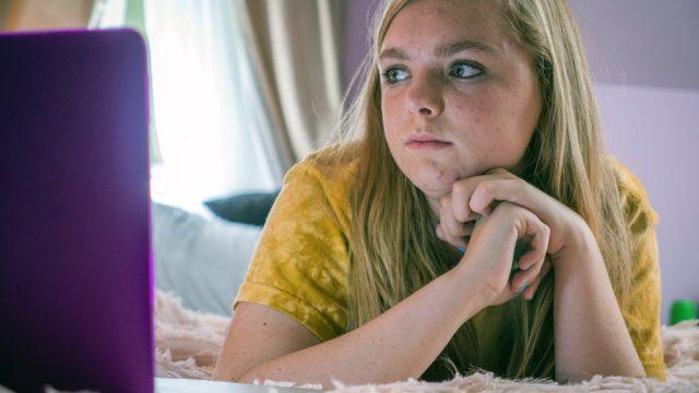 elsie fisher in movie eighth grade