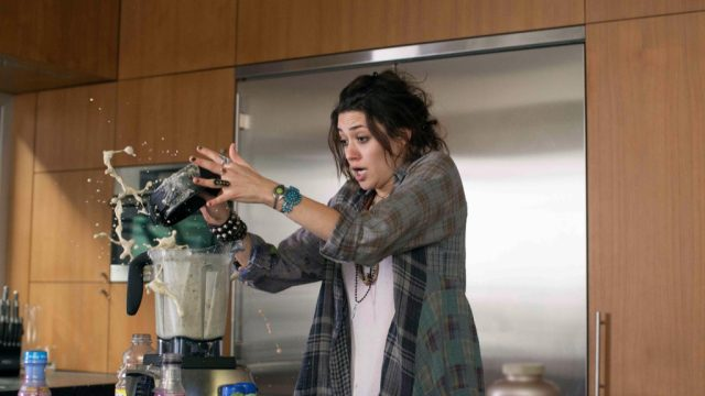 emmy rossum kitchen accident