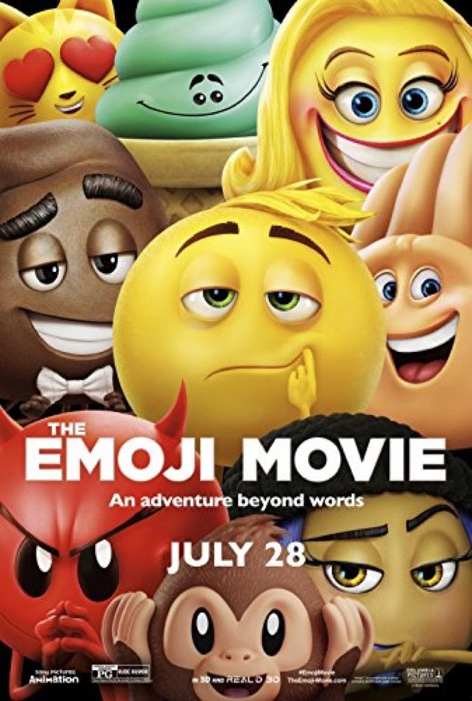 emoji movie poster