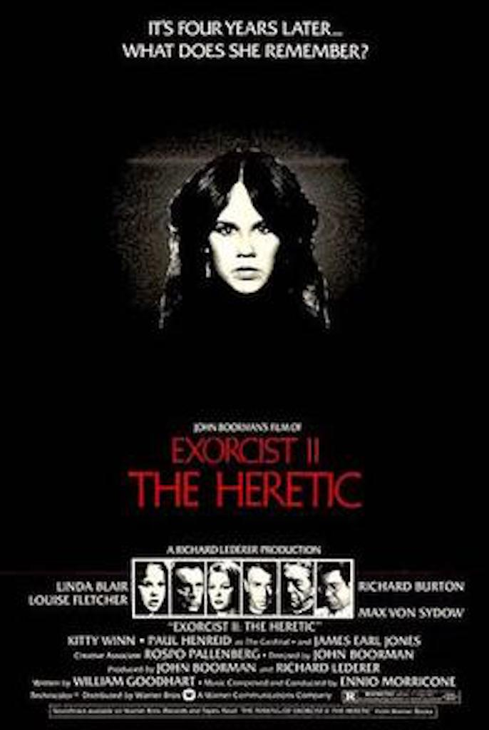 Exorcist 2 The Heretic Worst Movies