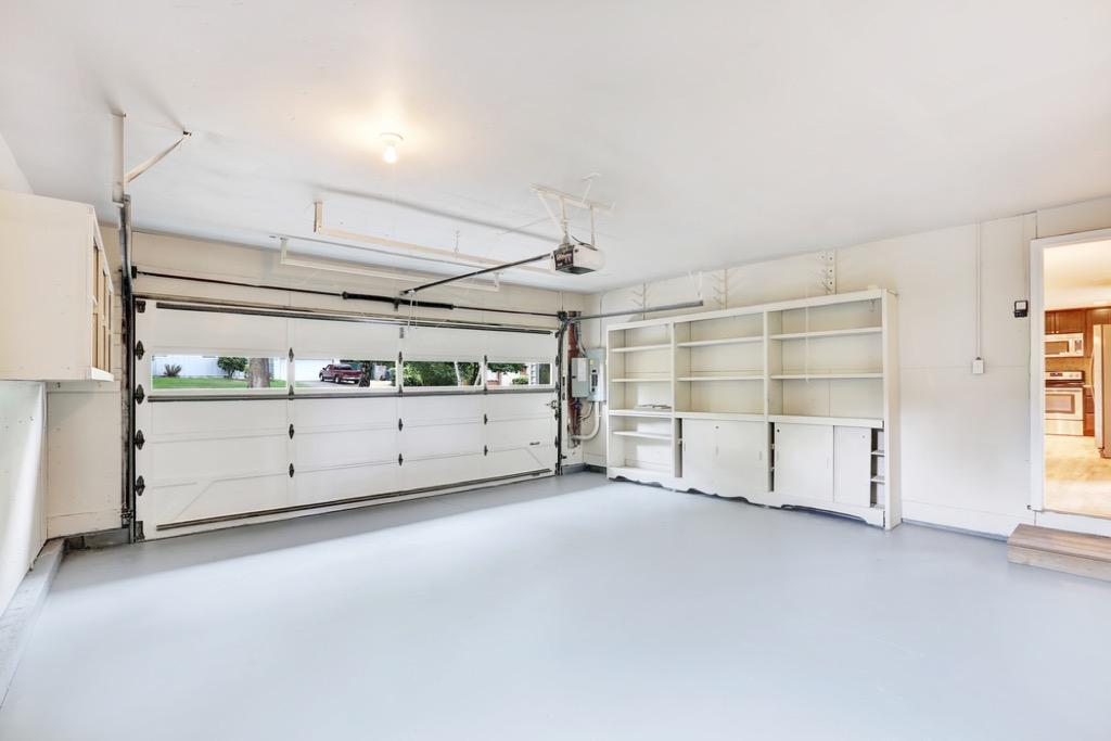 paint garage improve home value