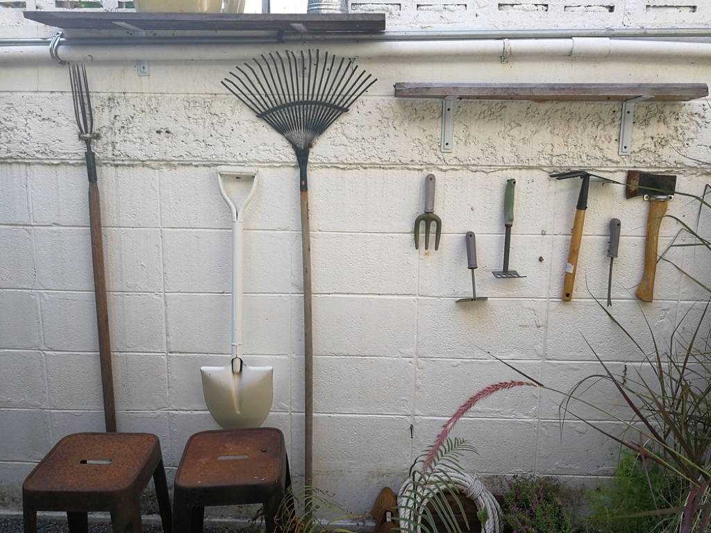 gardening shed get rid of old stuff