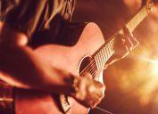 man playing red guitar, math jokes