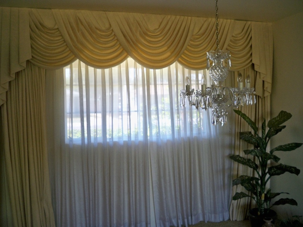 Heavily Draped Curtains Worst Home Decorating Trends