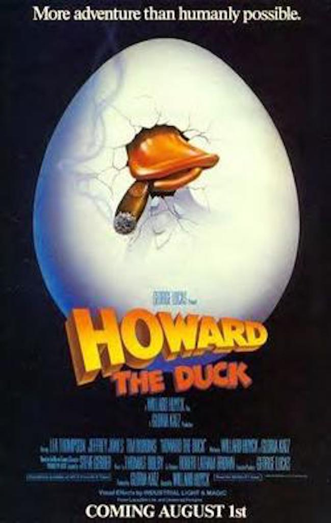 Howard the Duck Worst Movies