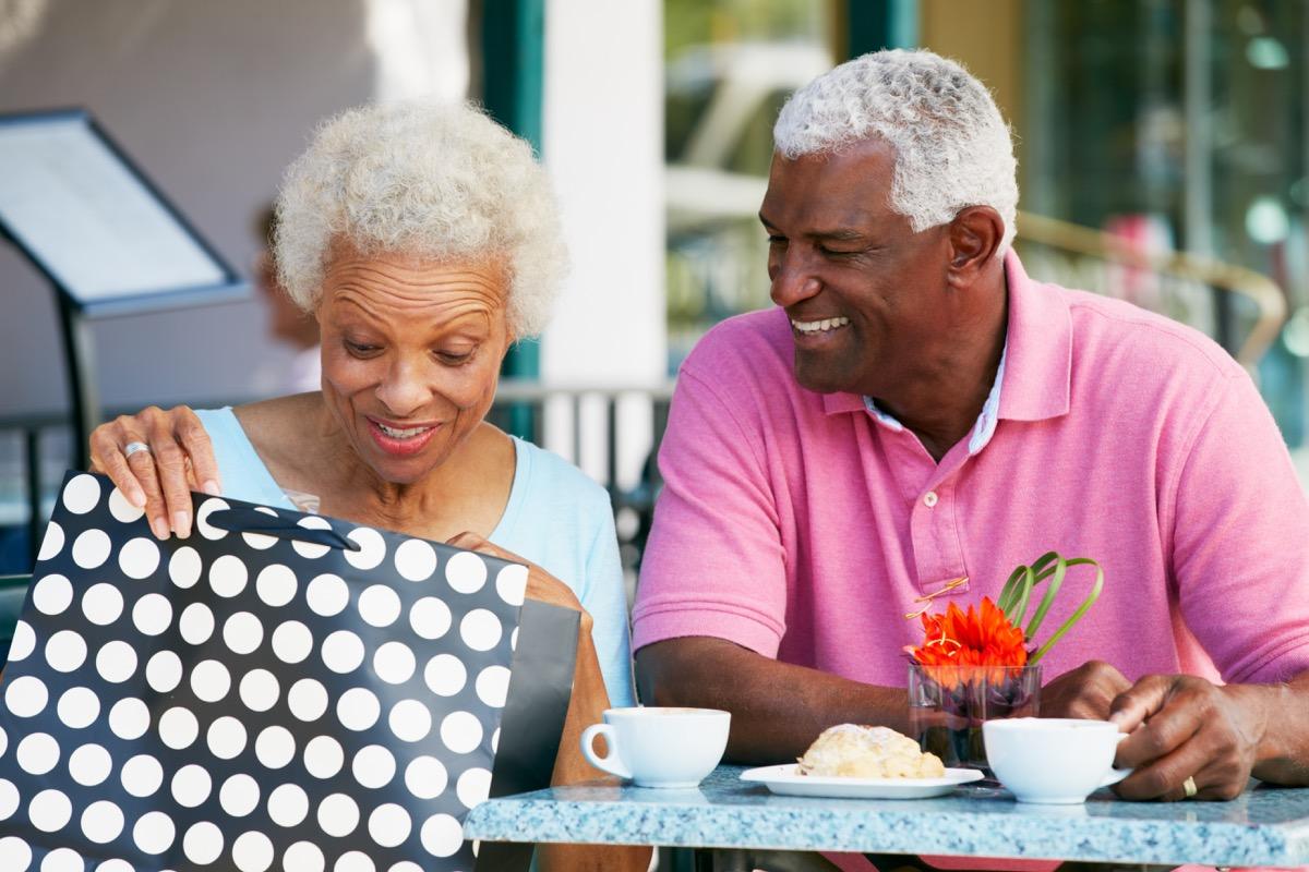 impulsive husband buying wife gift, long marriage tips